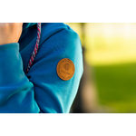 AngelWings Hoodie de portage Bleu Océan 4
