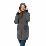 Liliputi Mamacoat manteau de portage et grossesse 4 en 1 Antracit 3