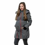Liliputi Mamacoat manteau de portage et grossesse 4 en 1 Antracit 4