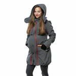 Liliputi Mamacoat manteau de portage et grossesse 4 en 1 Antracit 5
