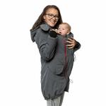 Liliputi Mamacoat manteau de portage et grossesse 4 en 1 Antracit 6