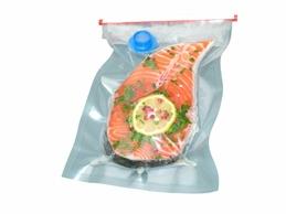saumon sur table verte détouré