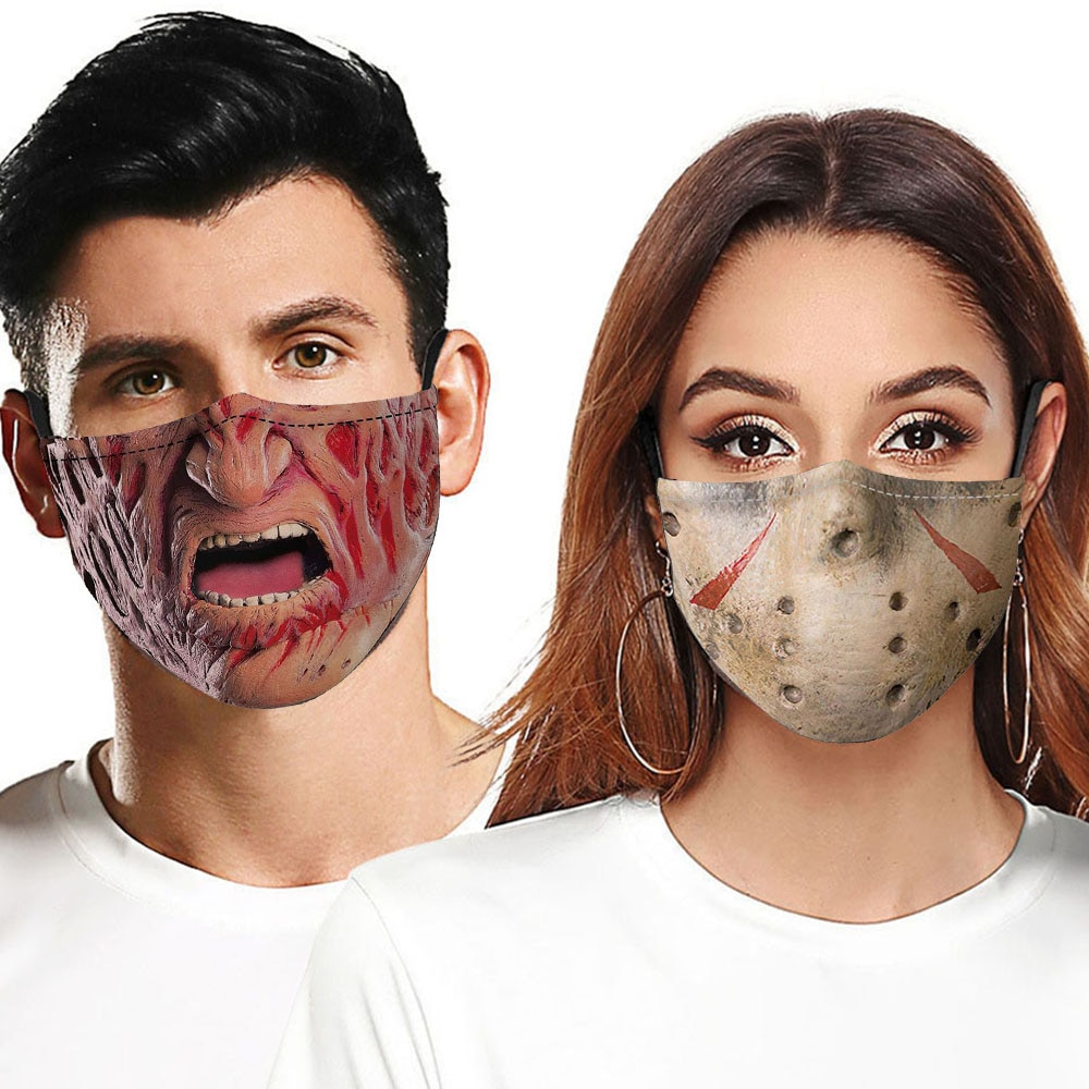 Masques Cosplay d\'halloween pour adultes