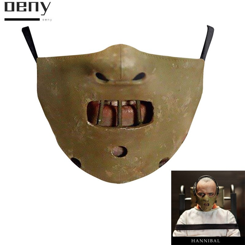 Masques Cosplay Cannibal pour Horrible d\'halloween