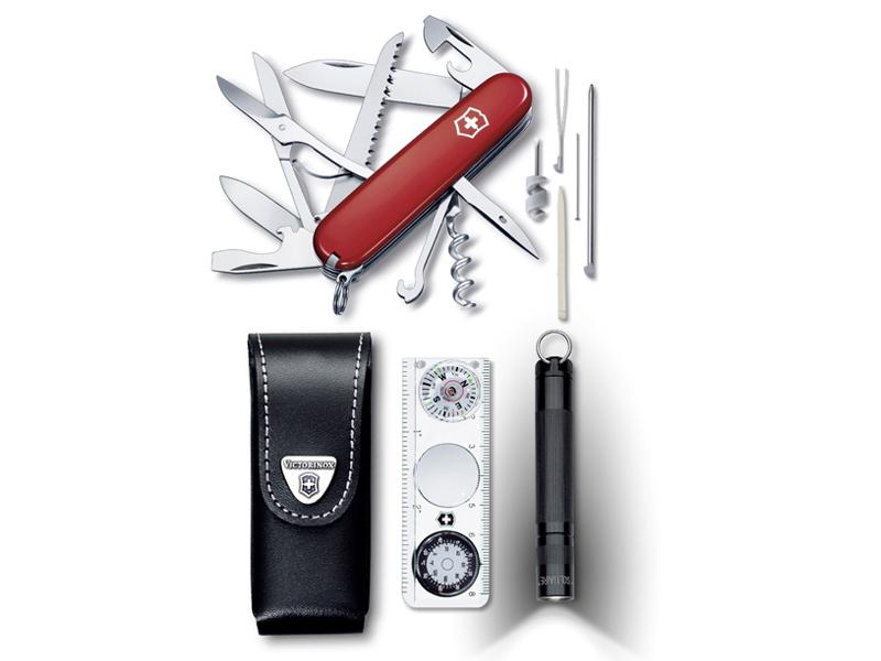 SET VICTORINOX TRAVELLER ROUGE
