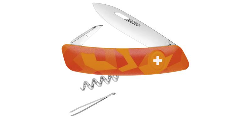 C01 luceo, orange, 6 fonctions