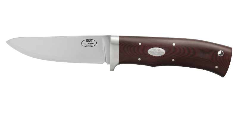 Advanced Hunting HK9 - Lame 90mm - Manche micarta - Etui cuir