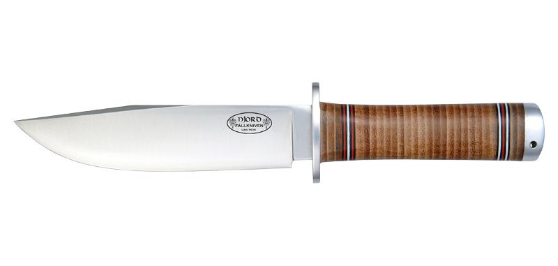 Njord - Lame 150mm - Manche cuir - Etui cuir