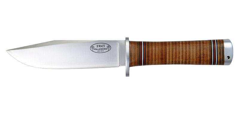 Frej - Lame 130mm - Manche cuir - Etui cuir