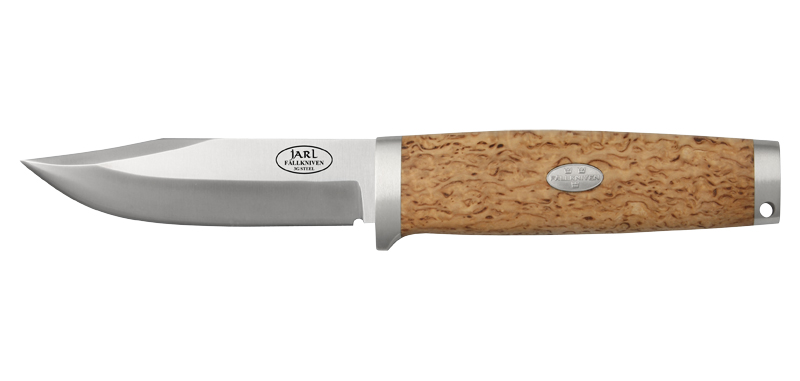 Jarl SK1 - Lame 97mm - Manche bouleau - Etui cuir