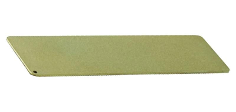 Pierre à aiguiser D3T - Longueur 75mm - Diamant - Etui cuir