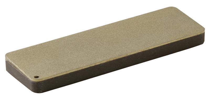 Pierre à aiguiser DC3 - Longueur 75mm - Diamant/céramique - Etui cuir