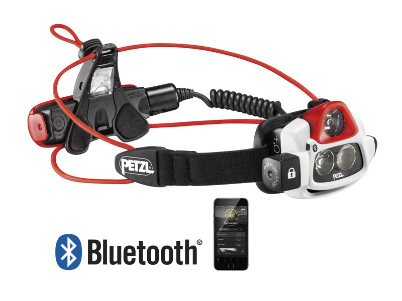 LAMPE FRONTALE PETZL NAO + RECHARGEABLE