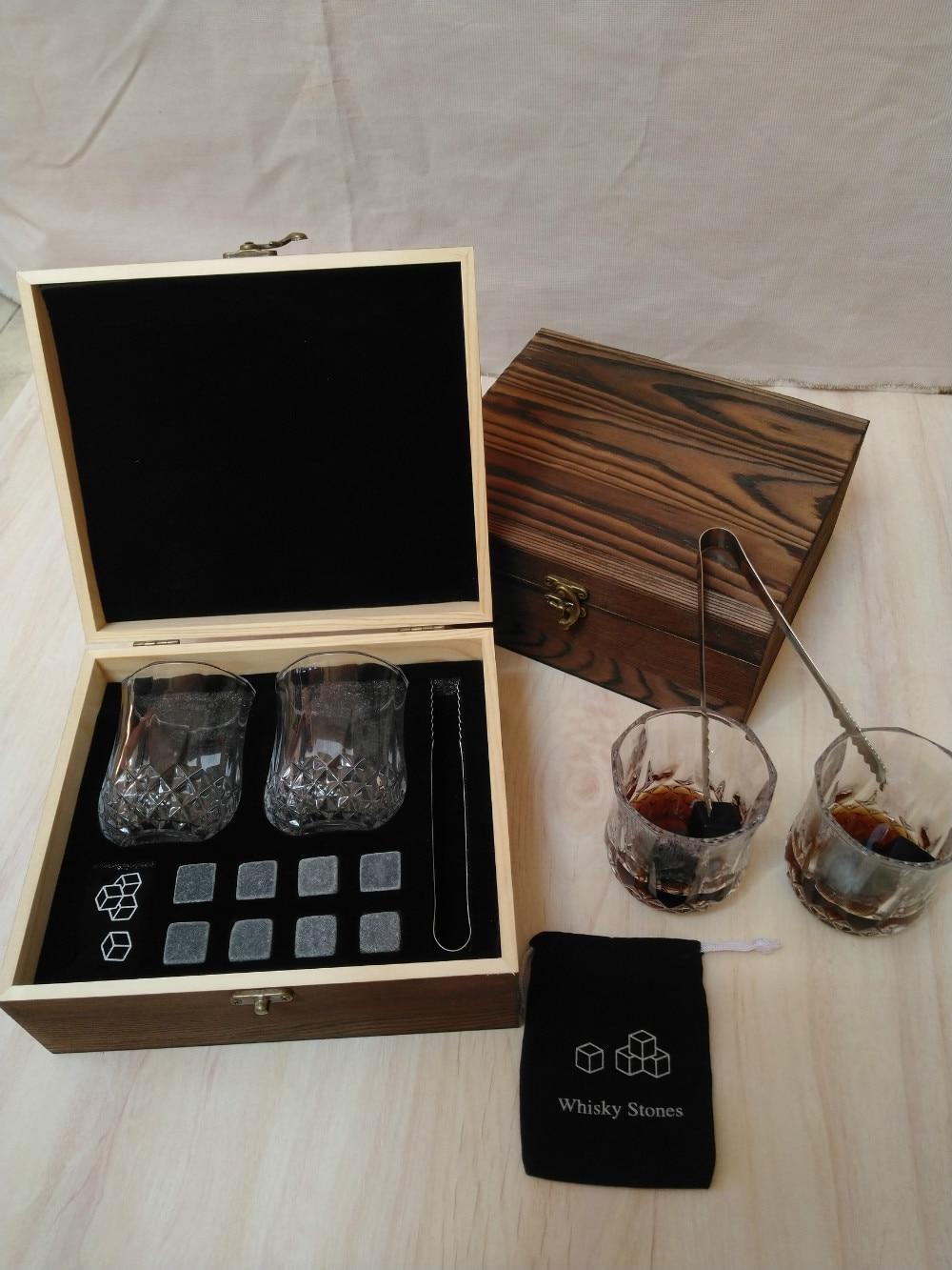 Whisky-pierres-coffret-cadeau-rapide-gel-bloc-de-glace-Whisky-granit-bloc-de-glace-pour-p