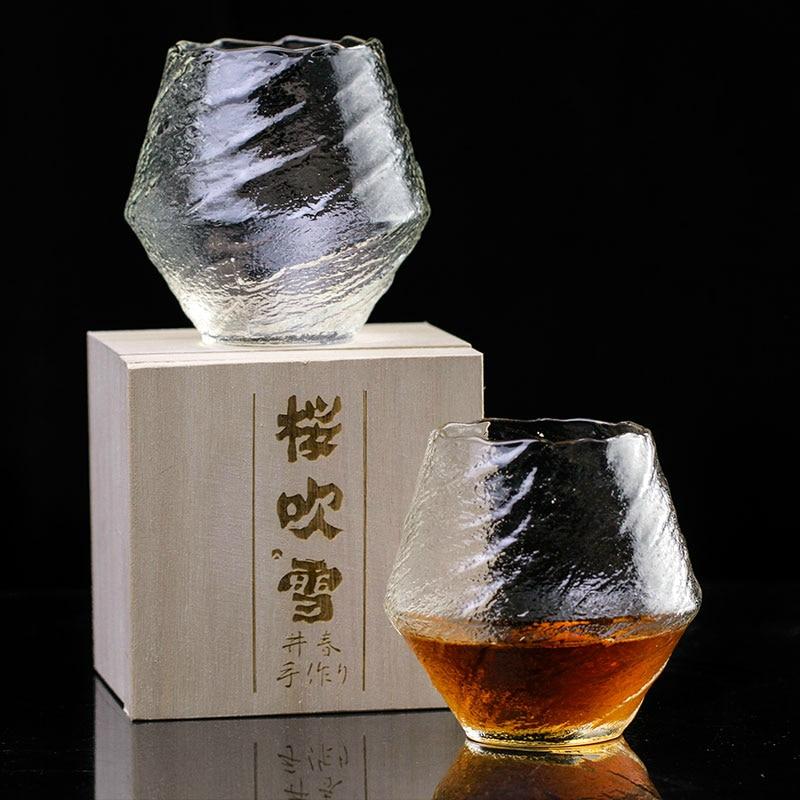 Verre à whisky en cristal japonais