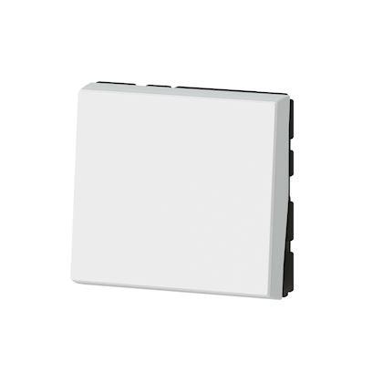 LEGRAND Interrupteur ou va-et-vient 10AX 250V~ Mosaic Easy-Led 2 modules - blanc 077011L