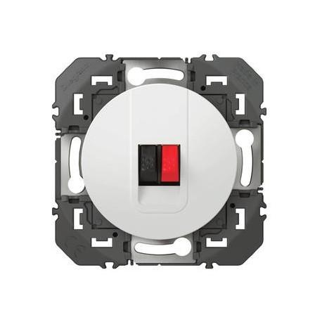 prise-haut-parleur-simple-dooxie-finition-blanc-600381