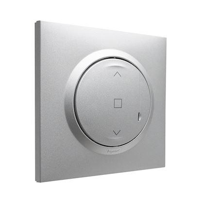 LEGRAND Commande sans fil - interrupteur volet roulant connecté dooxie with Netatmo -alu 600187