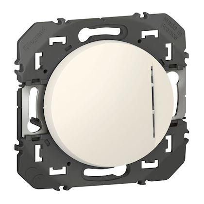 LEGRAND Interrupteur ou va-et-vient lumineux à équiper d\'un voyant dooxie finition blanc 600003