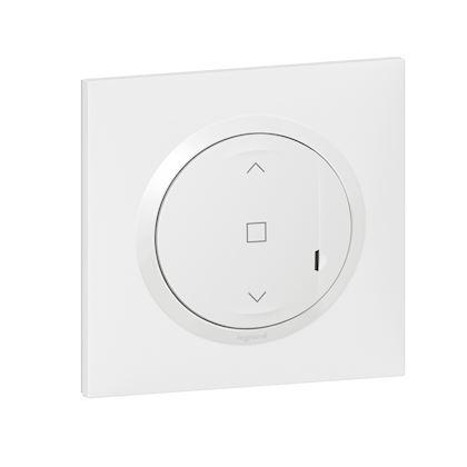 LEGRAND Interrupteur filaire connecté dooxie with Netatmo pour volet roulant - blanc 600086