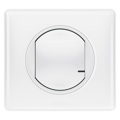 LEGRAND Interrupteur variateur connecté Céliane with Netatmo sans neutre 300W - blanc