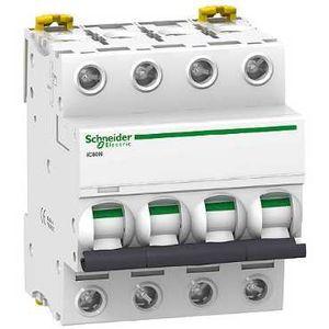 Schneider Acti9 iC60N Disjoncteur 4P courbe C -A9F77432