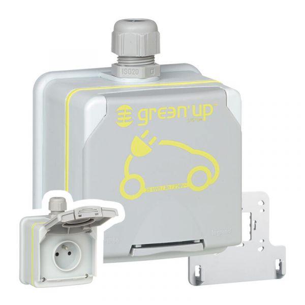 LEGRAND Prise saillie Green\'up Access véhicule électrique Modes 1/2 IP66 IK08 16A 230V 090471
