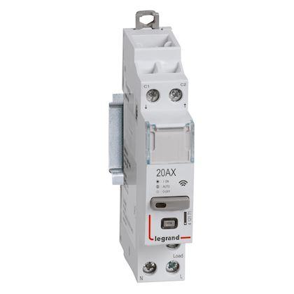 LEGRAND Contacteur connecté DRIVIA with Netatmo multifonction 1P 20AX 230V~- 1 module 412171