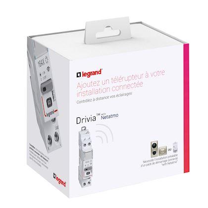 LEGRAND Télérupteur connecté DRIVIA with Netatmo silencieux 1P 16AX 230V~- 1 module 412170