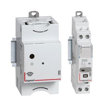 LEGRAND Pack de démarrage connecté DRIVIA with Netatmo : module Control + 1 contacteur 412191