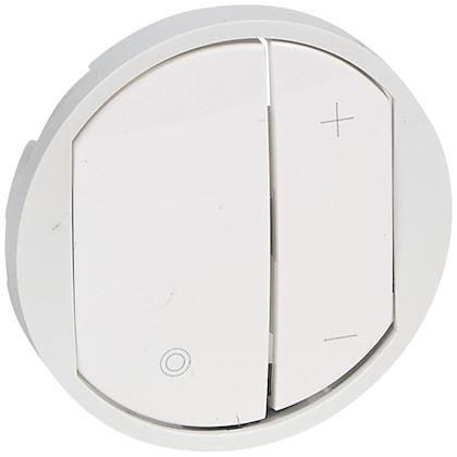 LEGRAND Enjoliveur Céliane pour variateurs - Blanc 065083