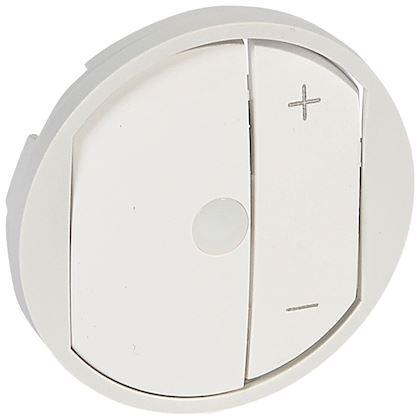 LEGRAND Enjoliveur Céliane pour commande pour télévariateur - Blanc 068075