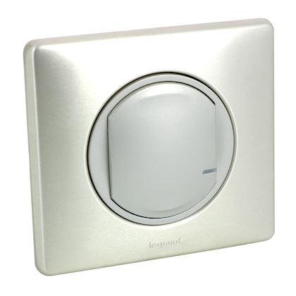 LEGRAND Interrupteur variateur connecté Céliane with Netatmo sans neutre 300W - titane 067771