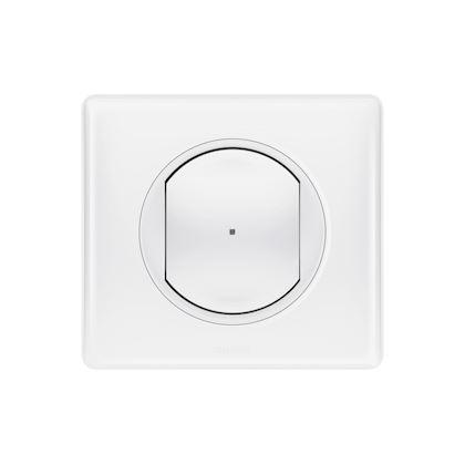 LEGRAND Interrupteur variateur connecté Céliane with Netatmo avec Neutre 150W - blanc 067797
