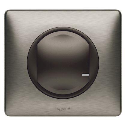 LEGRAND Interrupteur variateur connecté Céliane with Netatmo sans neutre 300W - graphite 064891