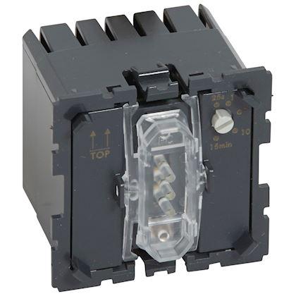 LEGRAND Interrupteur temporisé sans neutre Céliane 2 fils 1000W 067051