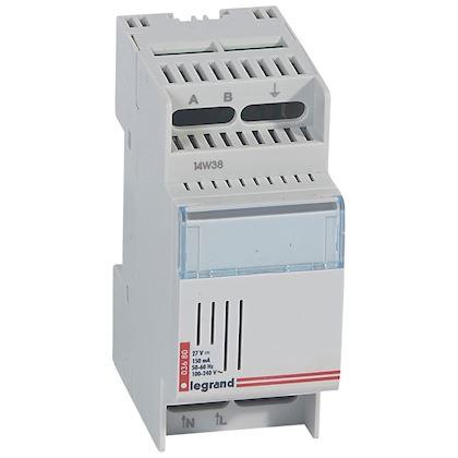 LEGRAND Alimentation pour BUS - 8 commandes auxiliaires des télévariateurs - 2 modules 003680