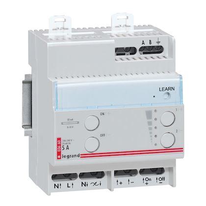 LEGRAND Télévariateur pour ballast 1V à 10V séparé - 1000VA - 4 modules 003660