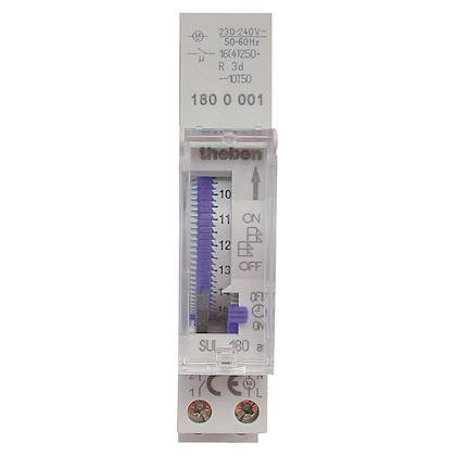 THEBEN Interrupteur horaire mécanique avec réserve de marche 1 c unipolaire SUL180ABLISTER
