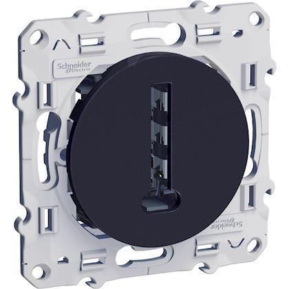Schneider Odace - Conjoncteur en T - Anthracite - 8 Contacts - Réf : S540496