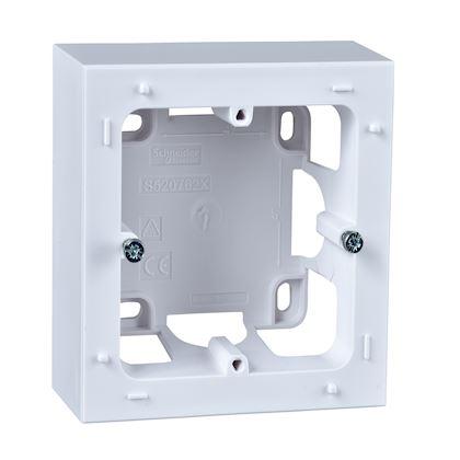 SCHNEIDER ELECTRIC Odace Styl, boîte pour montage en saillie Blanc, 1 poste S520762