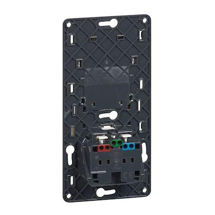 LEGRAND Prise de courant et chargeur USB Type-A 1A semi-encastré Céliane 067116