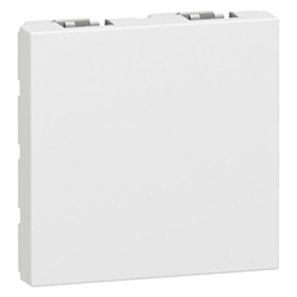 LEGRAND Obturateur Mosaic 2 modules - blanc 077071