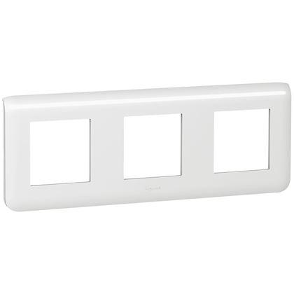 Legrand Mosaic - Plaque pour 3x2 modules horizontal - Réf : 078806