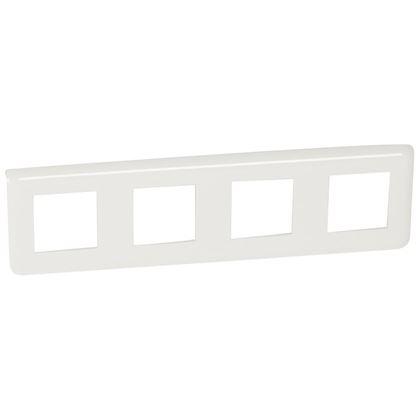 Legrand Mosaic - Plaque pour 4x2 modules horizontal - Réf : 078808