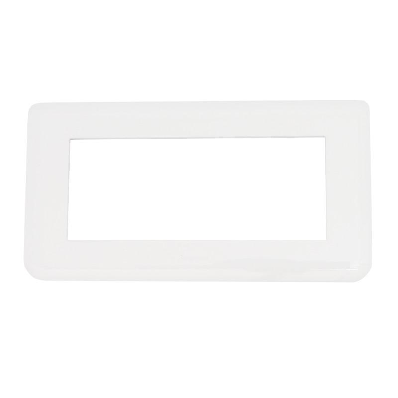 Legrand Mosaic - Plaque pour 4 modules horizontal - Réf : 078814
