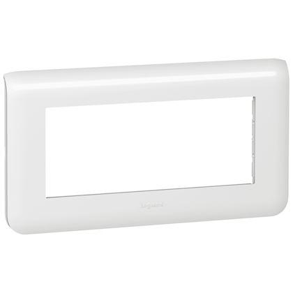 Legrand Mosaic - Plaque pour 5 modules horizontal - Réf : 078815