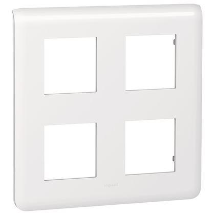Legrand Mosaic - Plaque pour 2x2x2 modules - Réf 078838