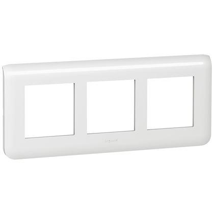 Legrand Mosaic - Plaque spéciale rénovation - 3x2 modules horizontal - Réf : 078866