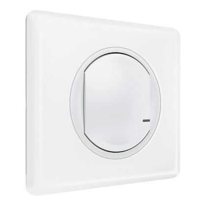 Commande sans fil Céliane with Netatmo pour éclairage et prise - blanc 067723